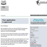 IT金融行业刘先生申请新加坡创业移民获批