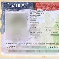 辽宁沈阳陈女士母女喜获美国K1/K2签证
