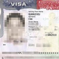 范小姐及女儿通过科领出国申请美国未婚签证成功赴美